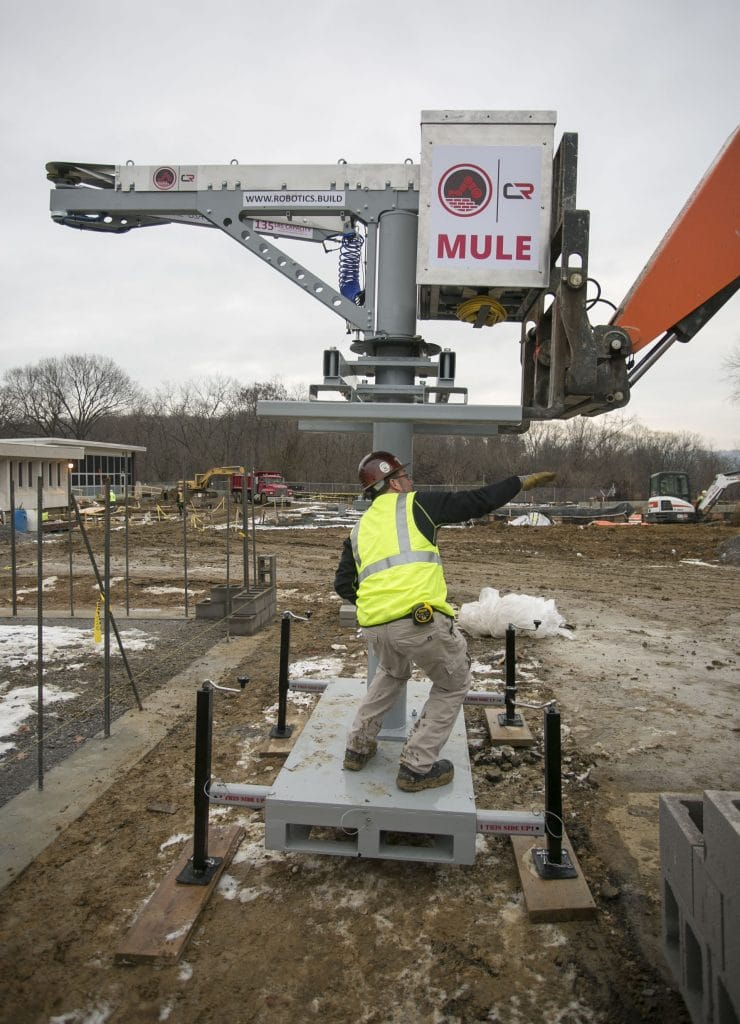 Mule Construction Robotics